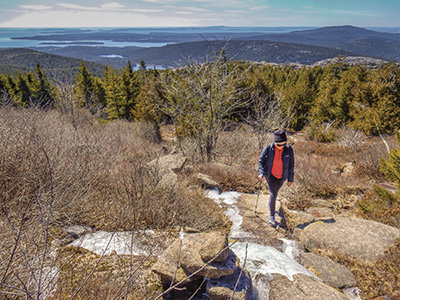 Sargent Mountain Trail, Acadia National Park
