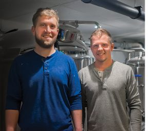 North Haven Brewing Co. Ben Lovell and Jesse Davisson