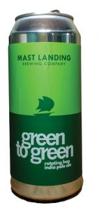 Green-to-Green, Mast Landing Brewing Company