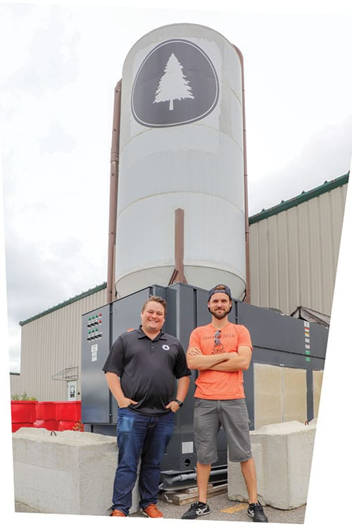 Tom Madden and John Paul of Lone Pine Brewing Company