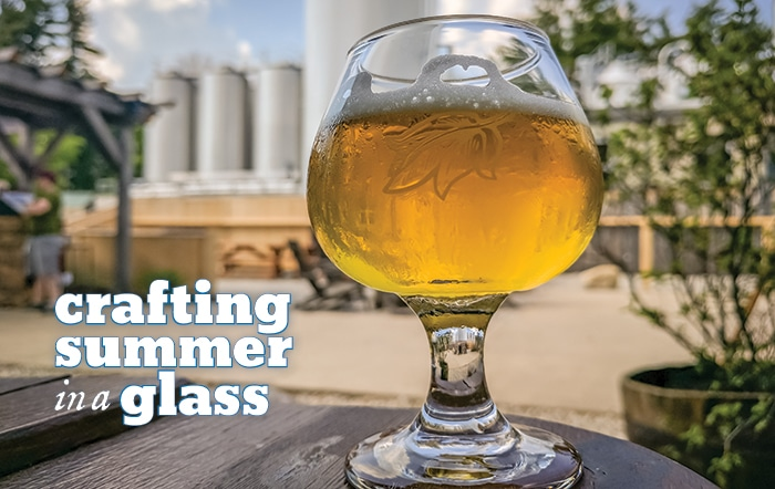 Crafting summer in a glass: Homebrewing a hoppy session ale. by Dave Patterson