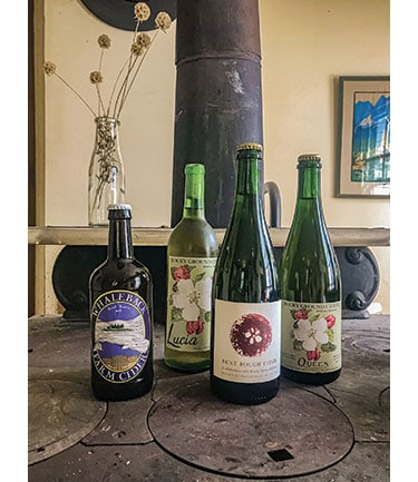 Whaleback, Rocky Ground and Bent Bough are among a variety of Maine cideries