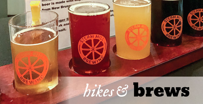 Hikes & Brews: Bethel Village historic walk & Steam Mill Brewing