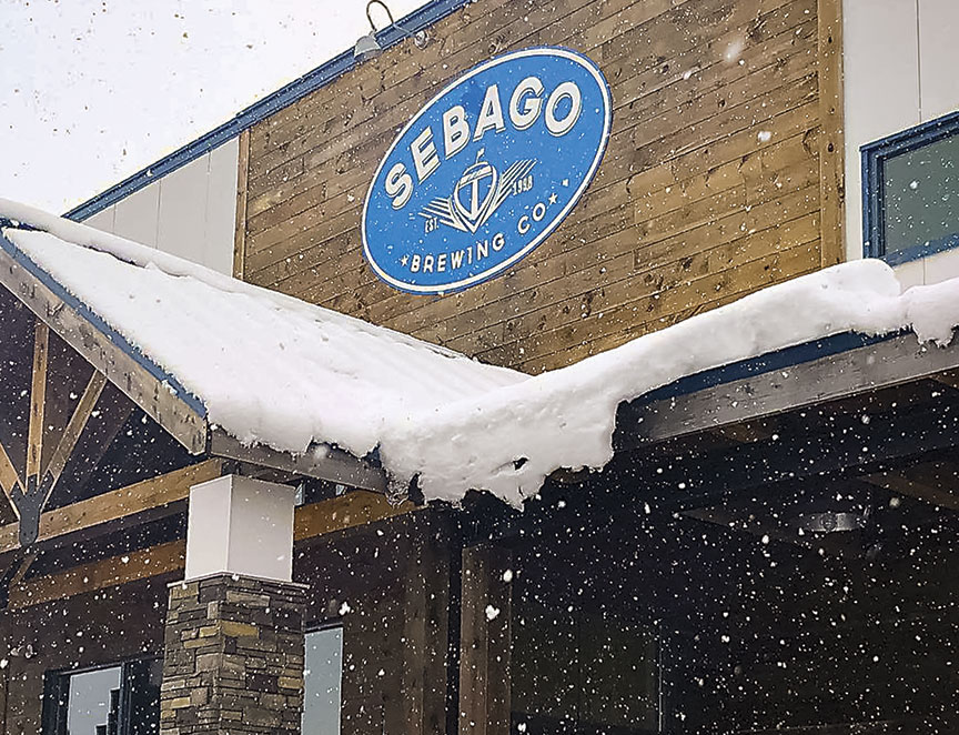 Sebago Brewing Co. brings the outdoors to craft beer lovers this winter
