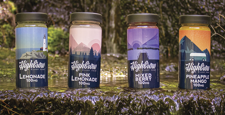CBD Infused, THC-Medicated Beverages on the rise in Maine. By Jenna Lookner